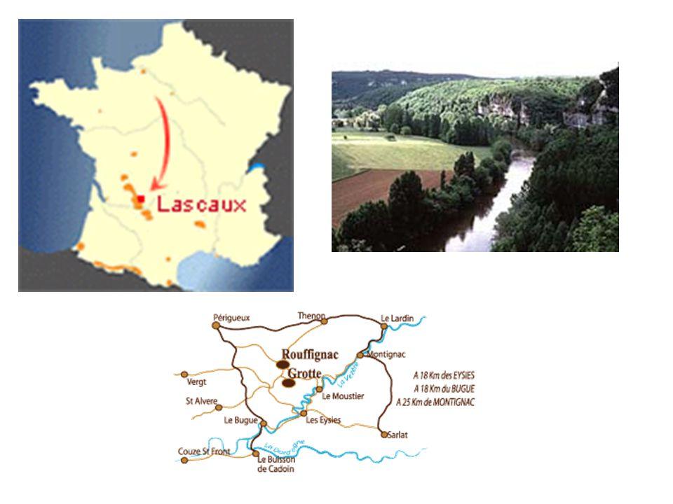 2 velké cykly jeskynních maleb Périgordská škola 30 000 -13 500 př.