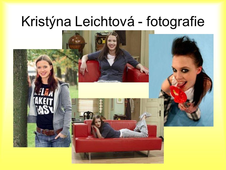 Kristýna Leichtová - fotografie