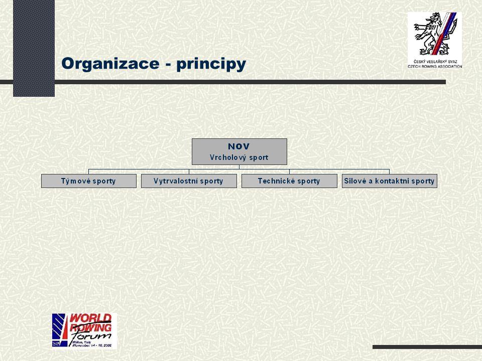 Organizace - principy