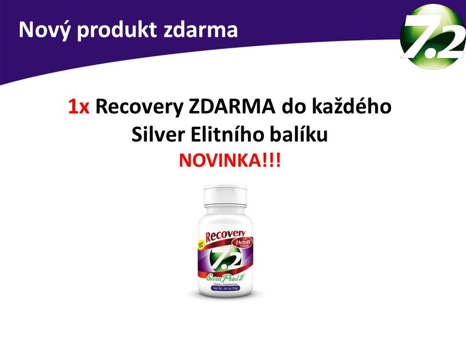 1x Recovery ZDARMA do každého Silver Elitního balíku NOVINKA!!! Nový produkt zdarma