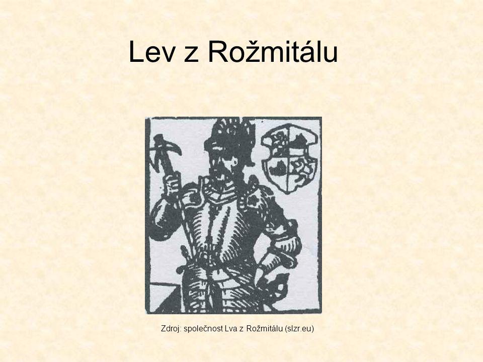Lev z Rožmitálu Zdroj: společnost Lva z Rožmitálu (slzr.eu)