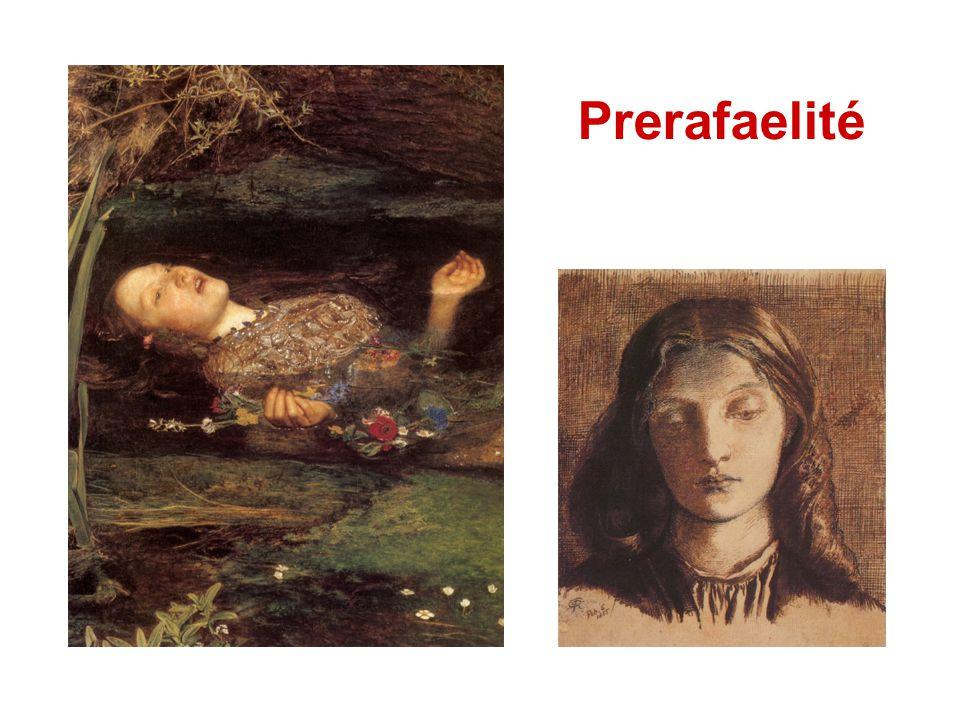 Založení Prerafaelitského bratrstva Londýn, září 1848 Dante Gabriel Rossetti autoportrét,1847 portrét od W.H.H.,1853 William Holman Hunt fotografie od J.