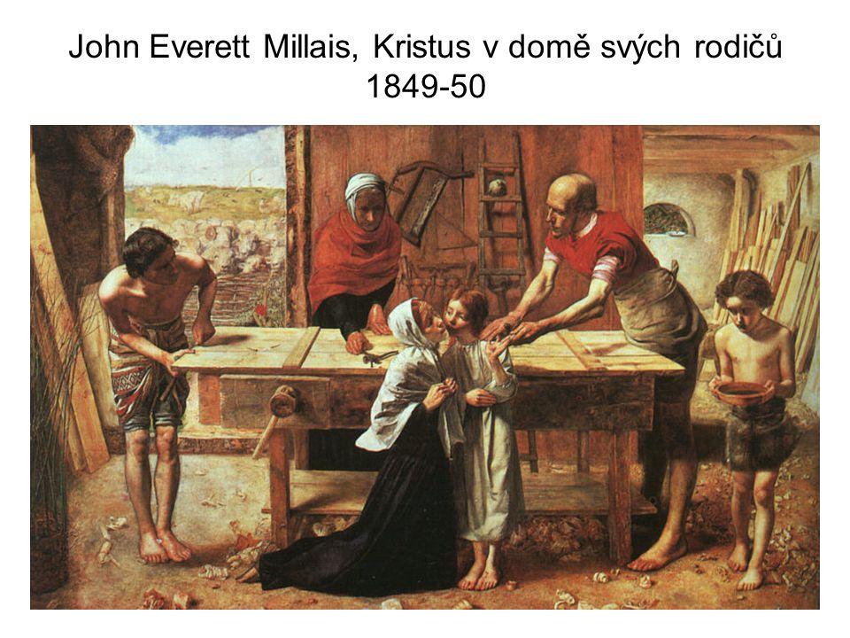 John Everett Millais, Kristus v domě svých rodičů 1849-50