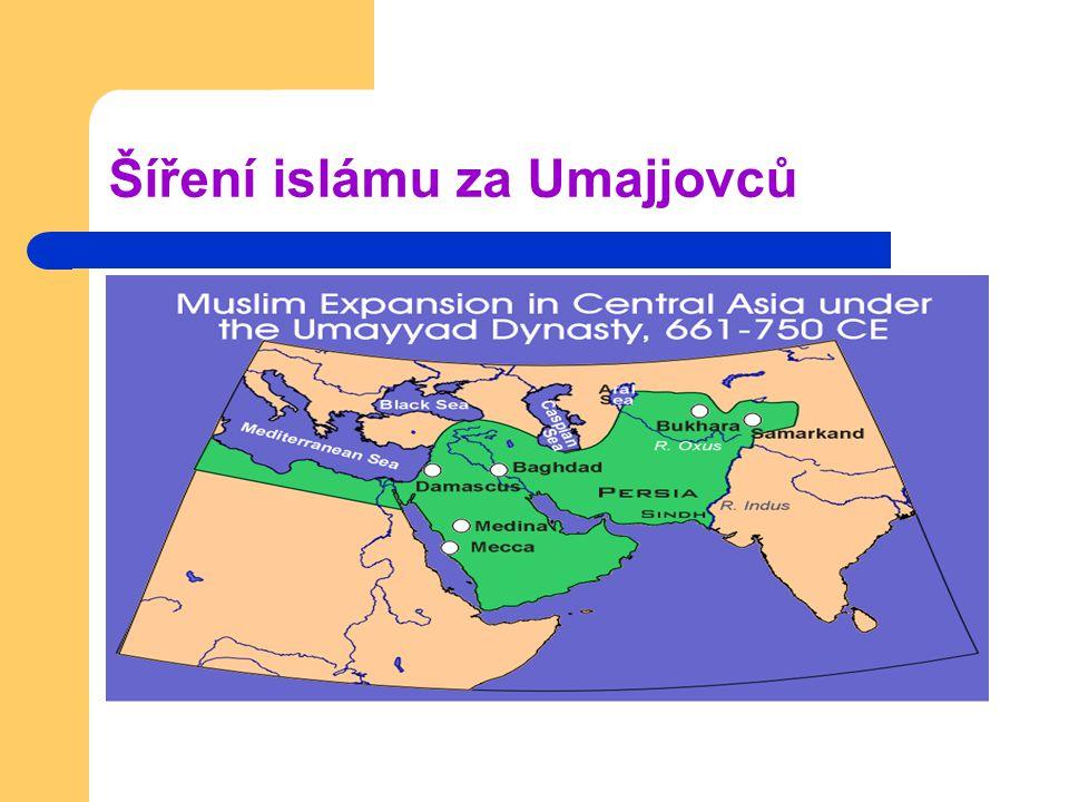 Šíření islámu za Umajjovců