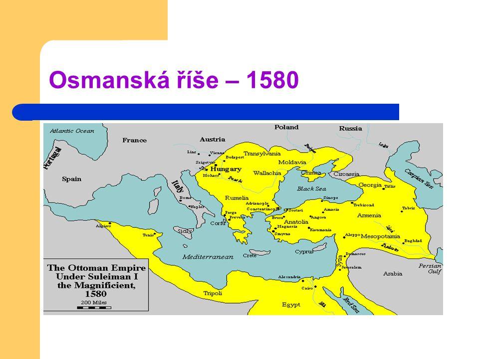 Osmanská říše – 1580