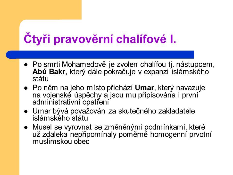 Čtyři pravověrní chalífové II.