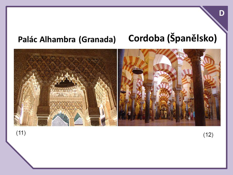 D Cordoba (Španělsko) Palác Alhambra (Granada) (11) (12)