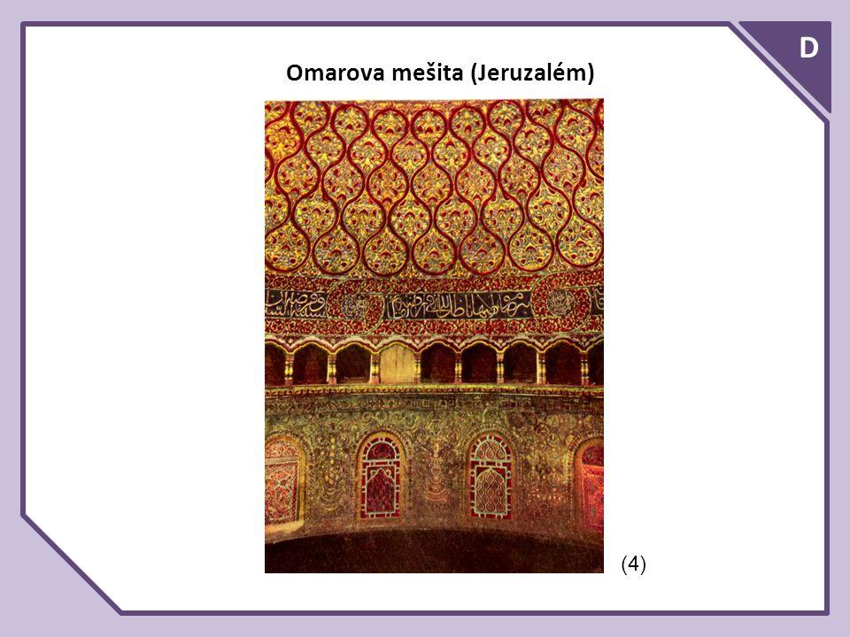 D Omarova mešita (Jeruzalém) (4)
