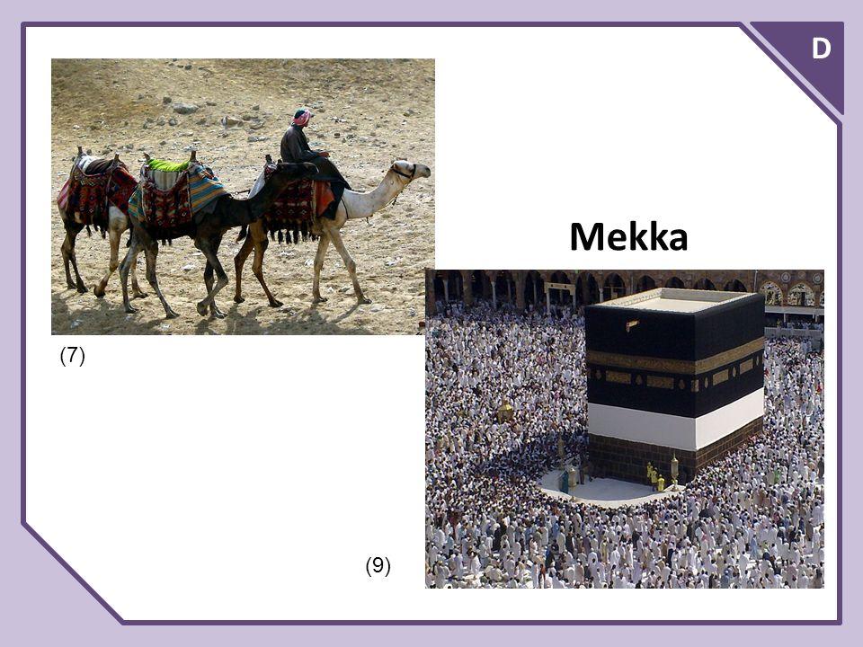 D Vznik a zásady islámu Zakladatelem islámu byl Mohammad (Mohamed), bohatý arabský obchodník z Mekky (nar.