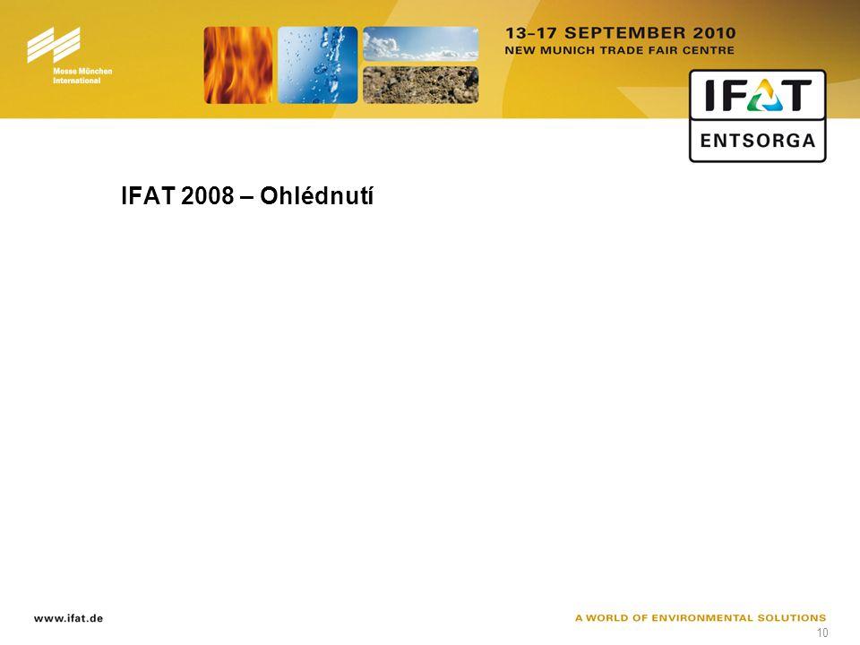 10 IFAT 2008 – Ohlédnutí