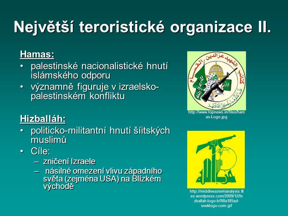 Hamas: palestinské nacionalistické hnutí islámského odporupalestinské nacionalistické hnutí islámského odporu významně figuruje v izraelsko- palestins