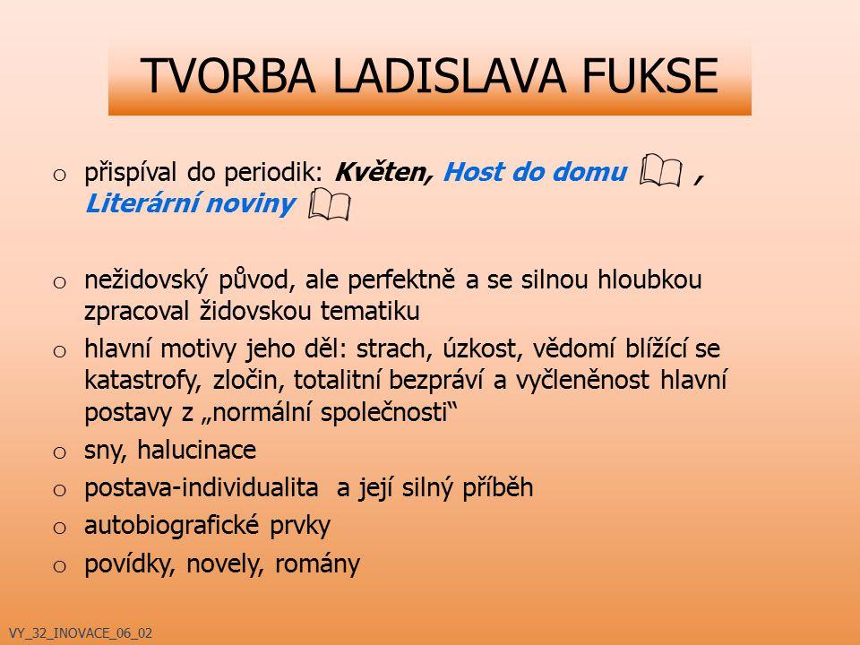 TVORBA LADISLAVA FUKSE 60.