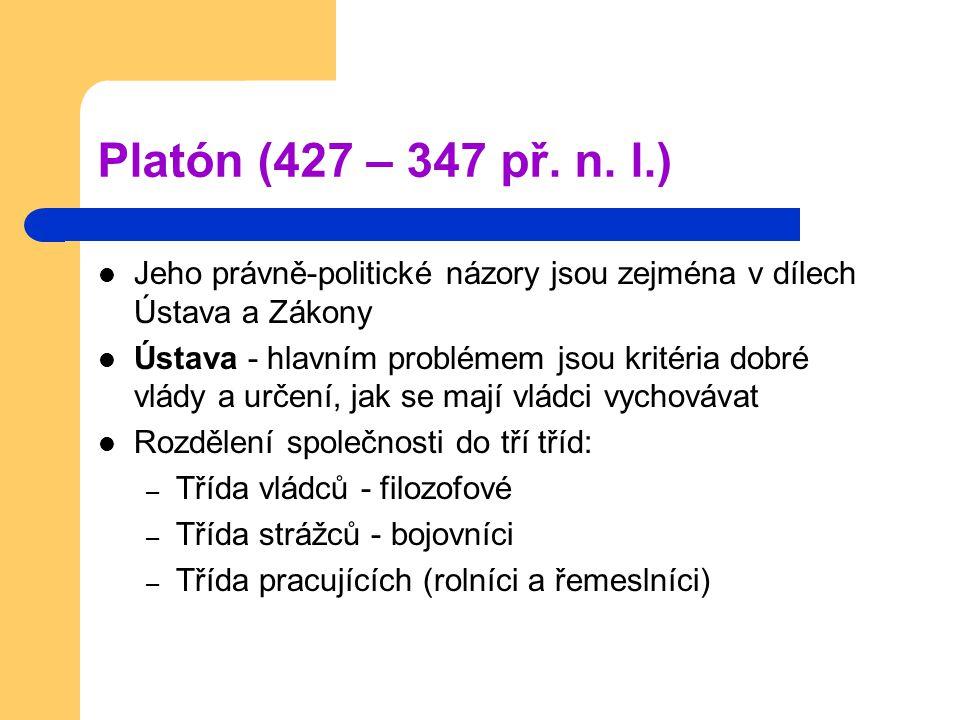 Platón (427 – 347 př. n.