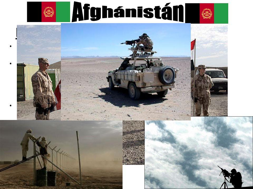 Nedávná minulost nedlouho po 11.9. 2001 americká armáda zaútočila na Afghánistán –13.11. 2001 byl dobyt Kábul vláda Tálibánu byla svržena jako pozemní