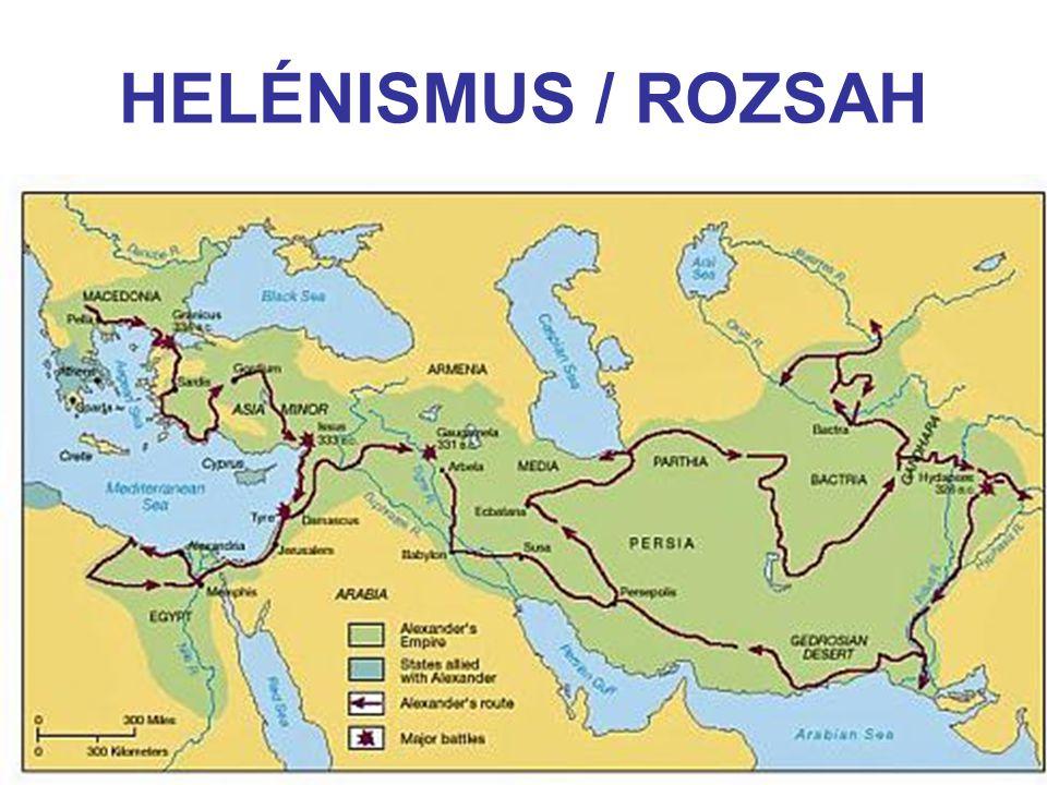 HELÉNISMUS / ROZSAH