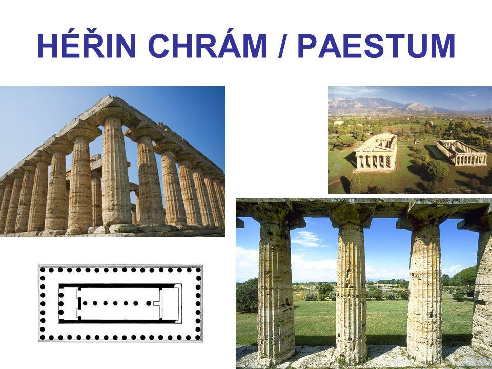 HÉŘIN CHRÁM / PAESTUM