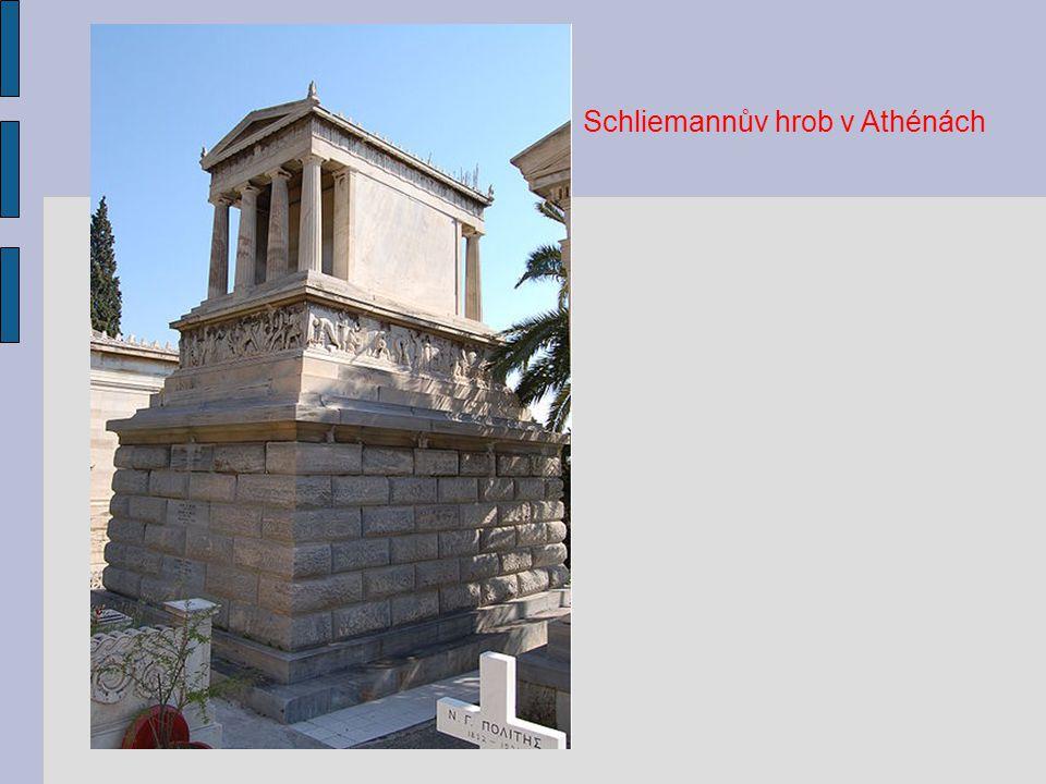 Schliemannův hrob v Athénách