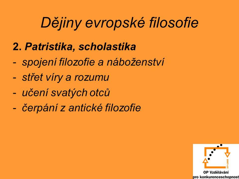 Dějiny evropské filosofie 3.