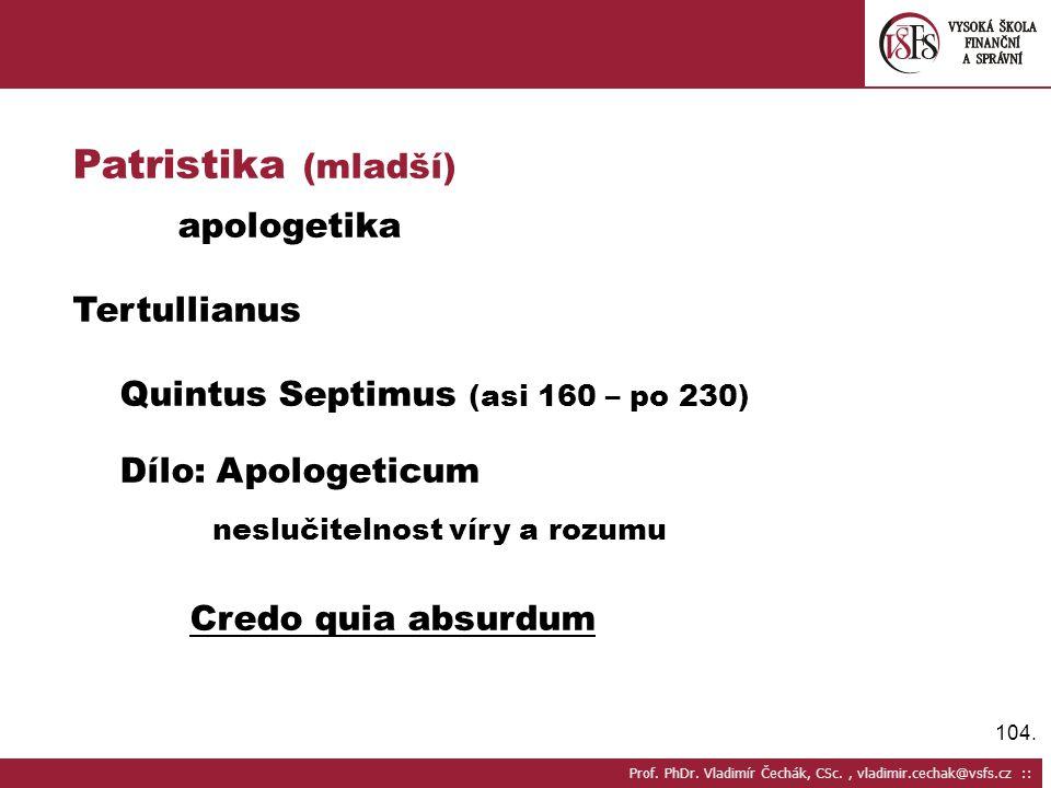 104.Prof. PhDr.
