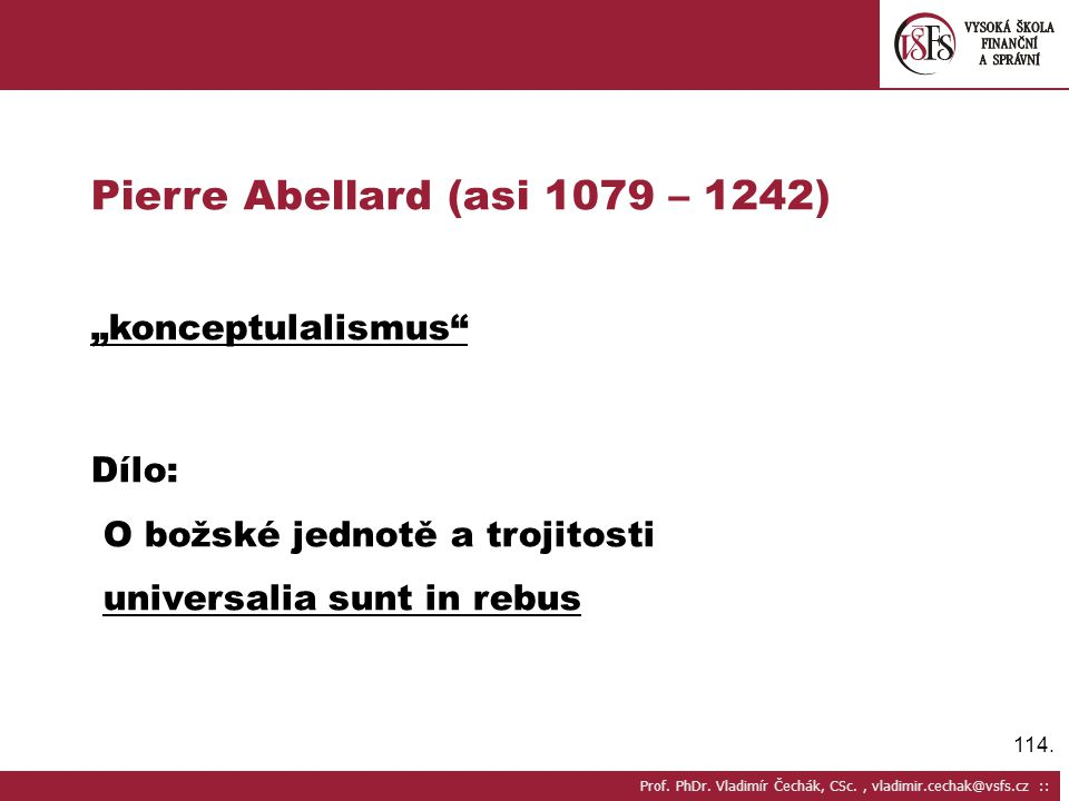 114.Prof. PhDr.