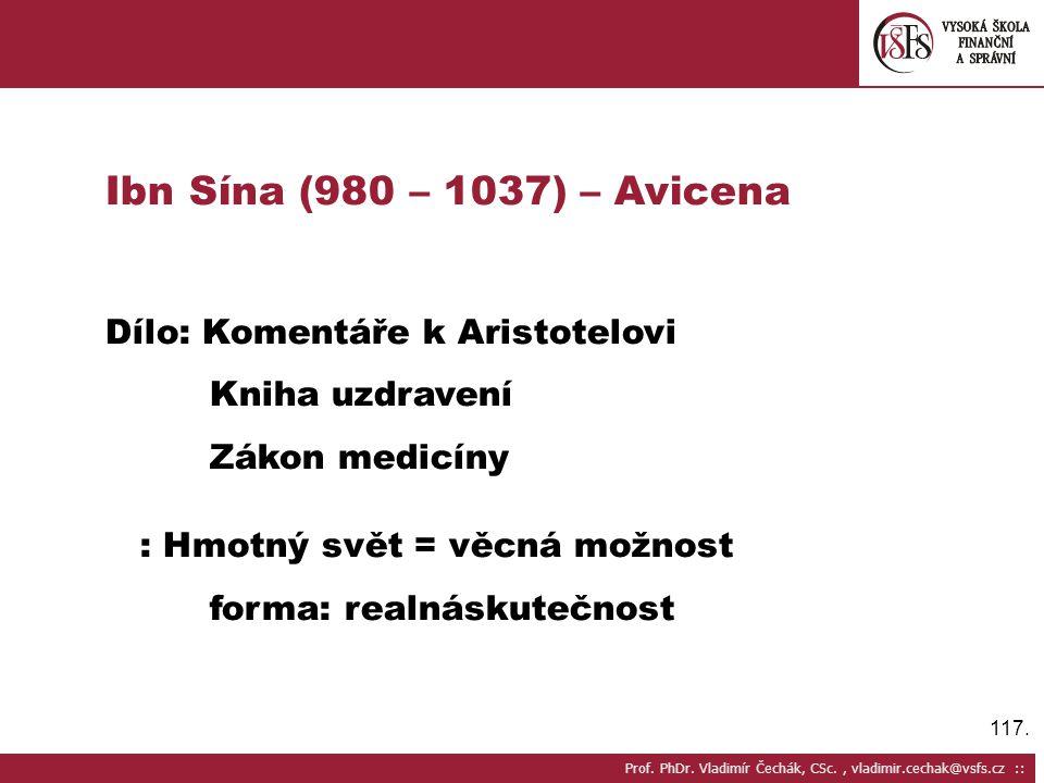 117.Prof. PhDr.