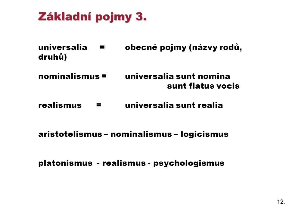 12.Základní pojmy 3.