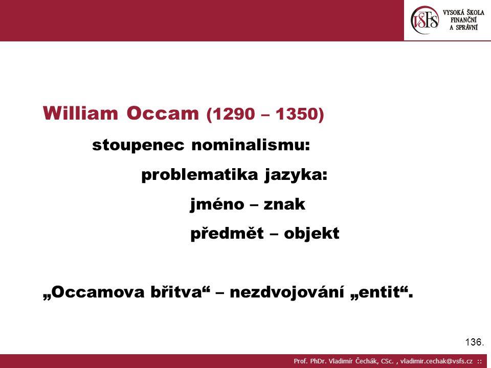 136.Prof. PhDr.