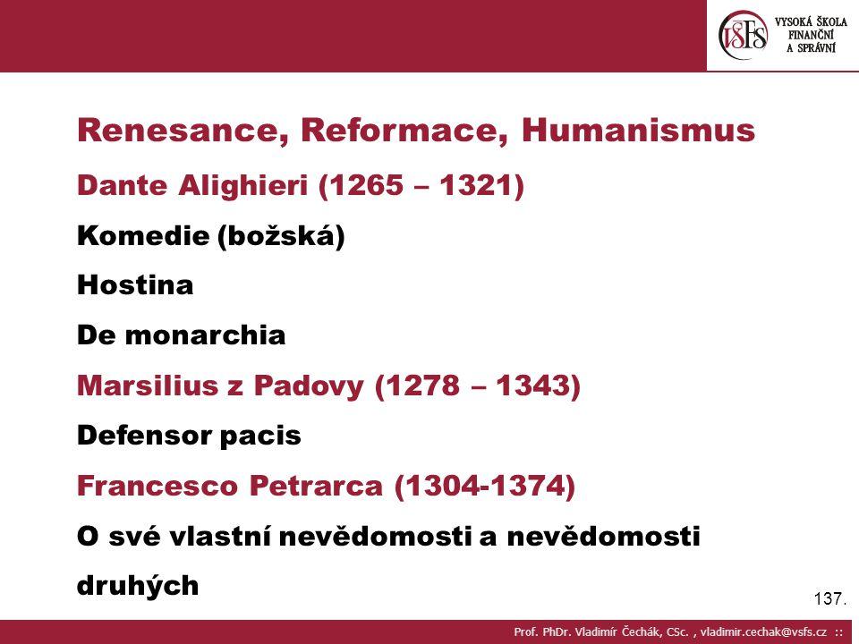 137.Prof. PhDr.