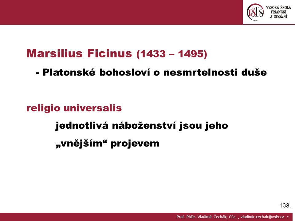 138.Prof. PhDr.