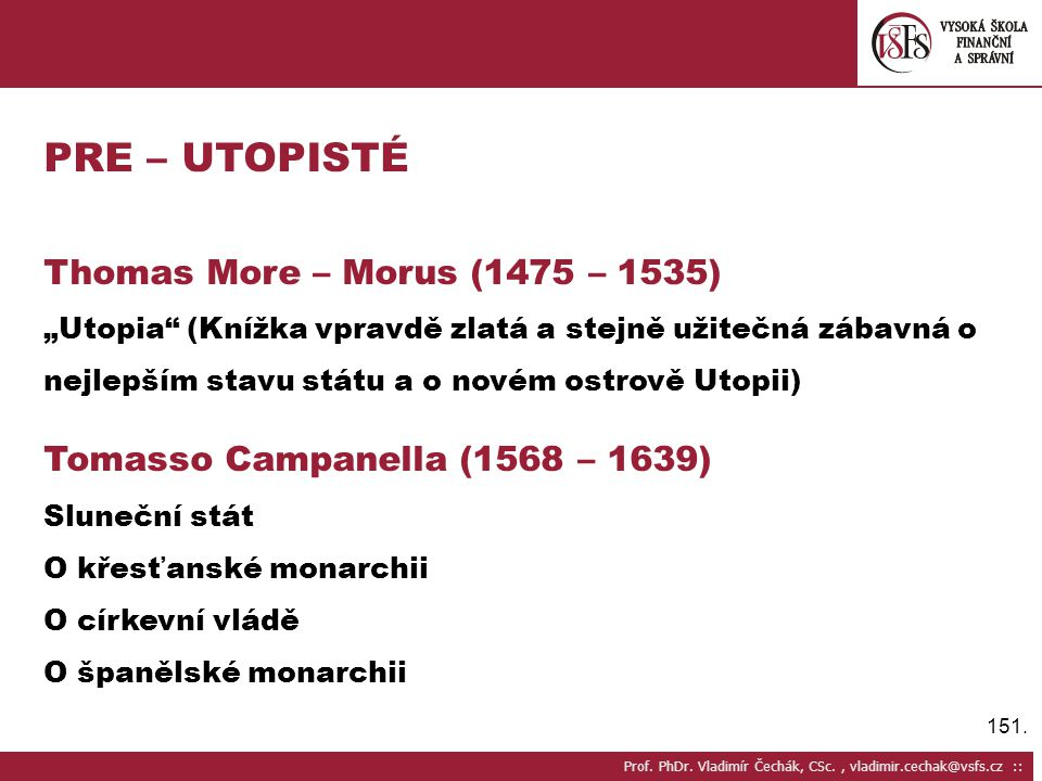 151.Prof. PhDr.