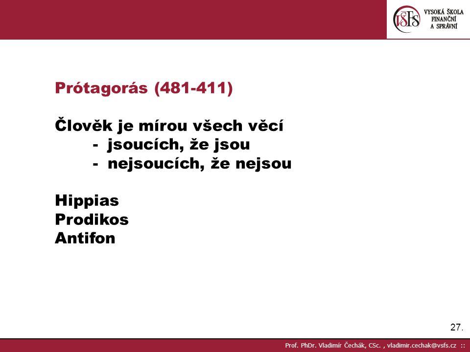 27.Prof. PhDr.