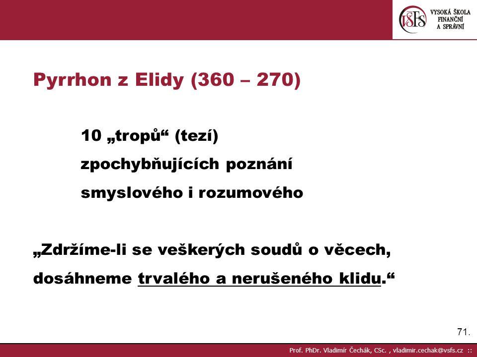 71.Prof. PhDr.