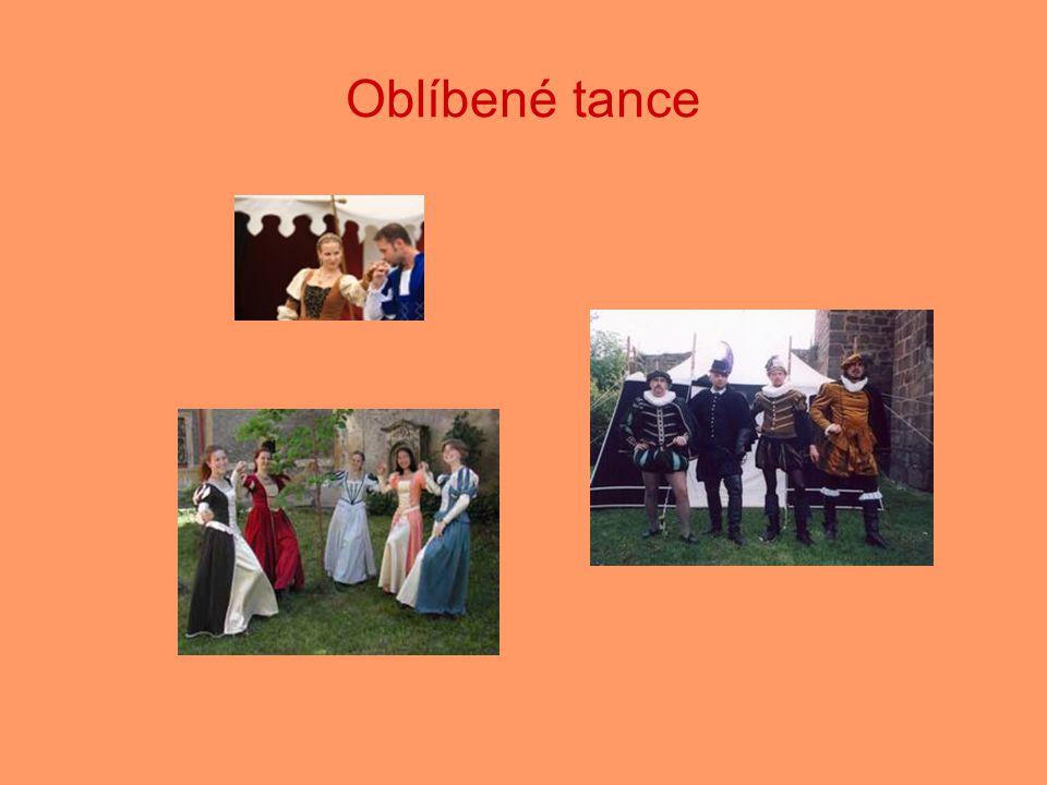 Oblíbené tance