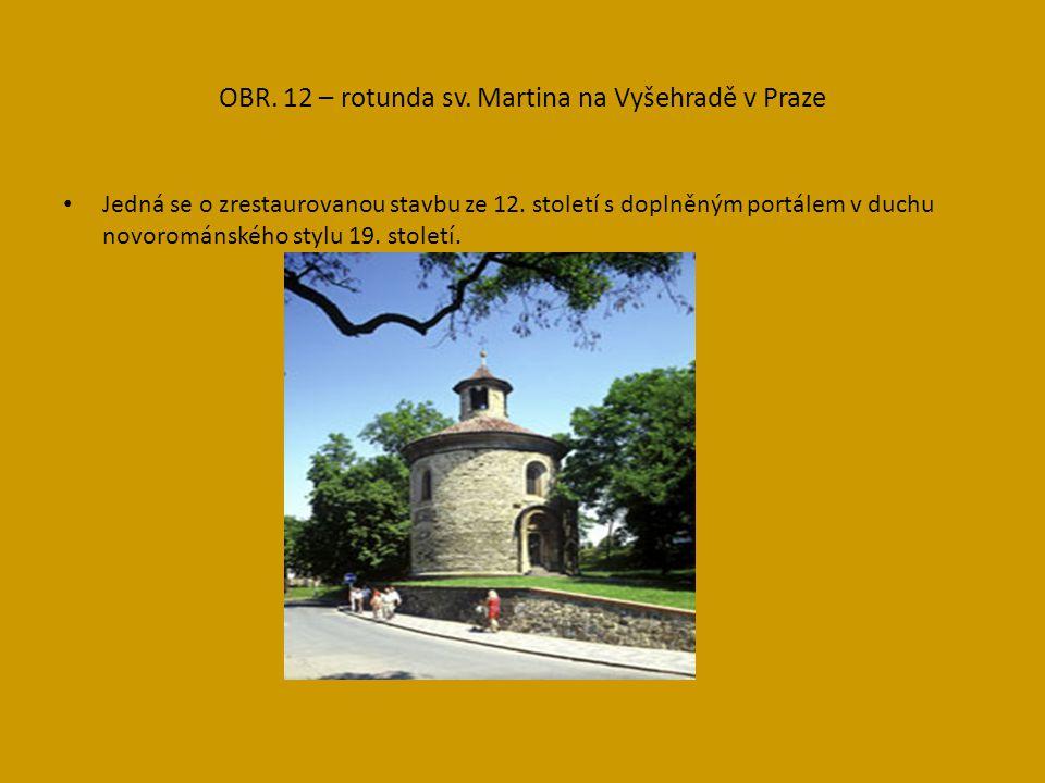 OBR.13- ukázka románského zdiva, jsou zde zastoupeny 3 způsoby.