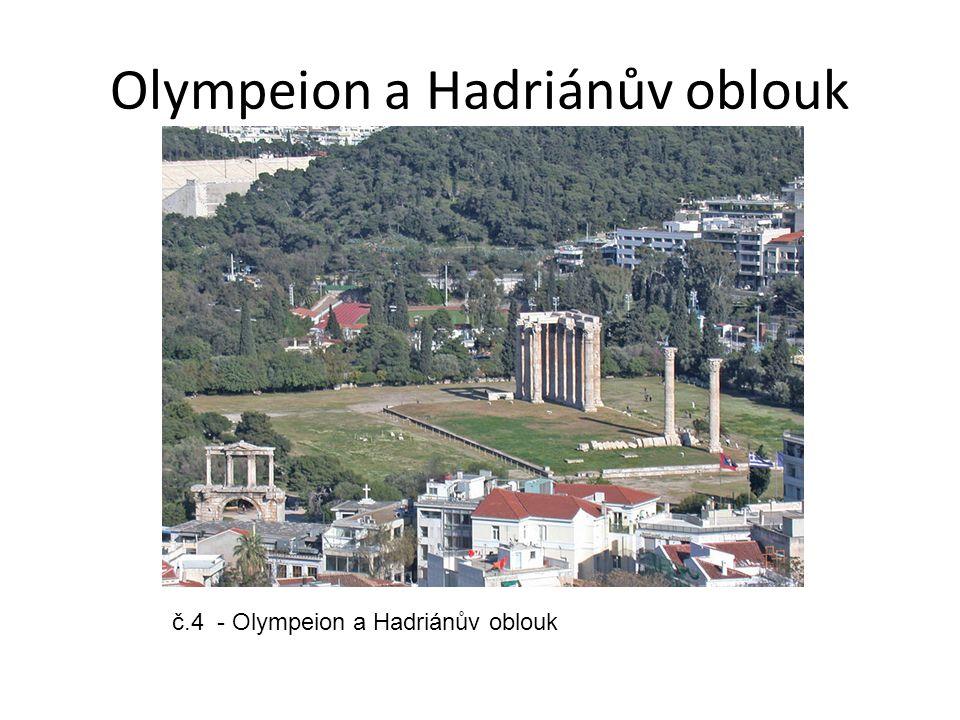 Olympeion a Hadriánův oblouk č.4 - Olympeion a Hadriánův oblouk