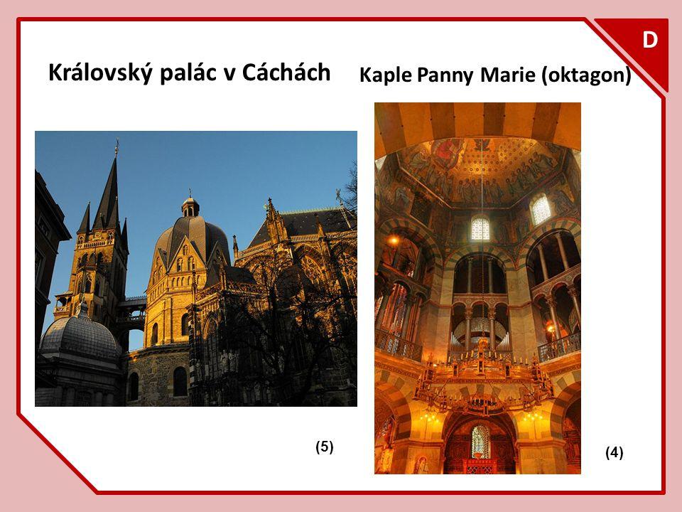 F D Královský palác v Cáchách Kaple Panny Marie (oktagon) (4) (5)