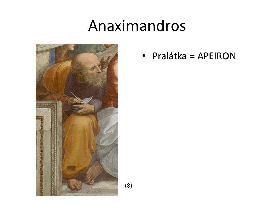 Anaximandros Pralátka = APEIRON (8)