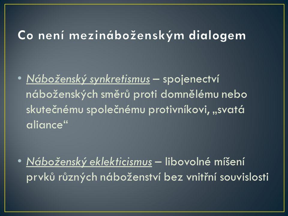 Dialog v užším smyslu – společné hledání pravdy v rozhovoru směřující ke shodě Podmínky dialogu: - uznání rovnosti zúčastněných stran - ochota ke změně - nadřazení pravdy loajalitě