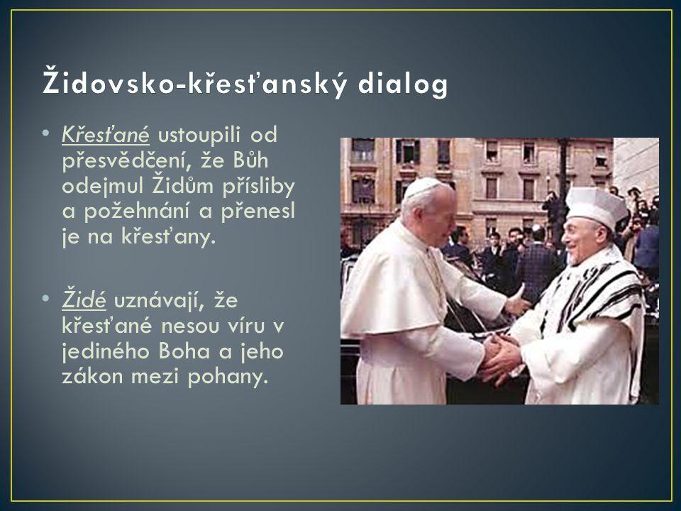 Společnost křesťanů a Židů: … byla založena v naší zemi v roce 1991 s cílem podporovat dialog mezi křesťany a Židy, ale také zprostředkovat rozhovor mezi těmito dvěma náboženstvími a širokou veřejností.