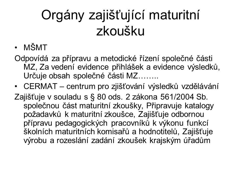 Termín státních maturit 2009/2010 plánovaný termín, přesunut na 2011 (náběhová fáze), 2012 (podzim 2010 – generální zkouška) V dubnu a květnu se uskutečnila její první část (velké rozdíly mezi jednotlivými typy středních škol) – jedna ze tří plánovaných Školy mohou maturovat podle nové metodiky už letos (ústní zkouška CJL/CJ) http://www.novamaturita.cz/cesky-jazyk-a- literatura-1404034170.html