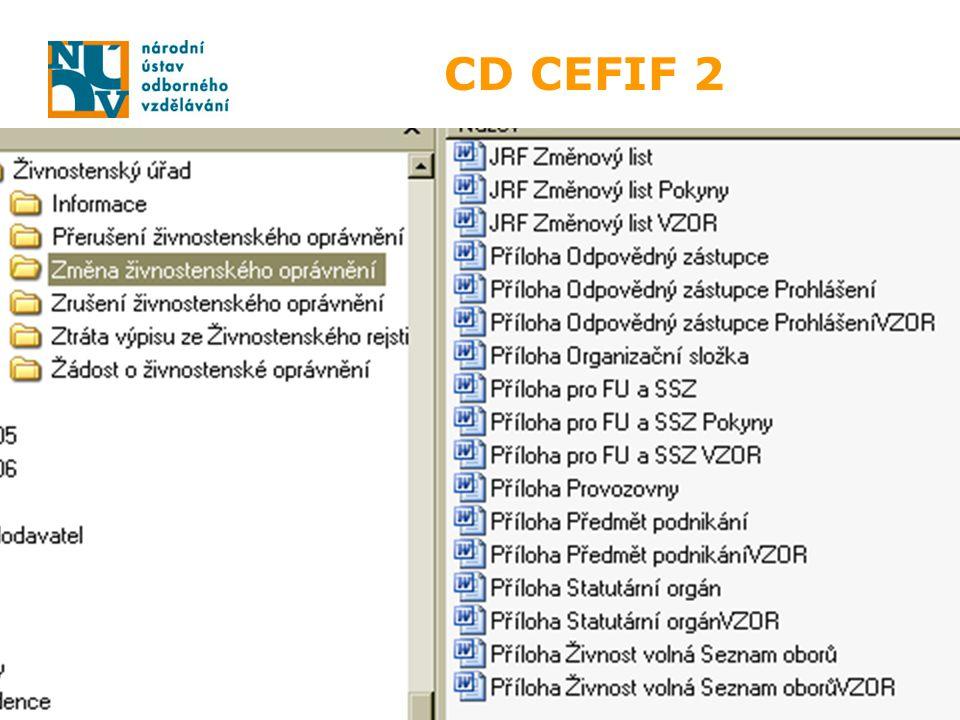 CD CEFIF 2