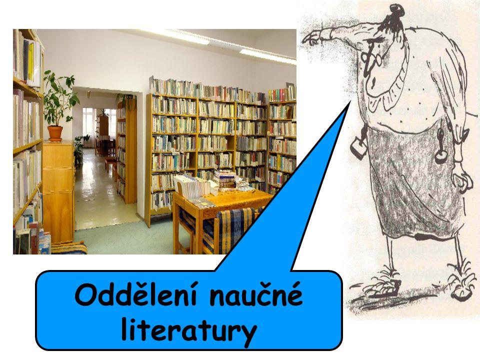 Oddělení naučné literatury