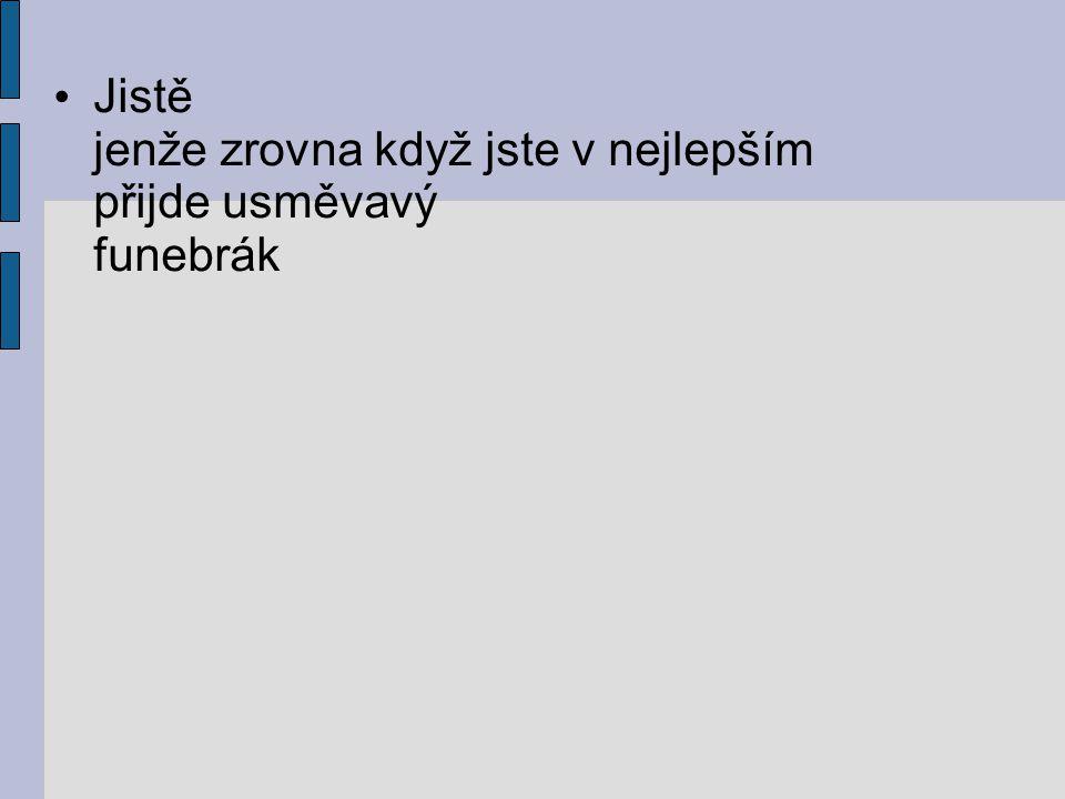 Seznam použitých pramenů: www.cesky-jazyk.cz www.zivotopisy.cz Lawrence Ferlinghetti Svět je báječné místo Centrum pro virtuální a moderní metody a formy vzdělávání na Obchodní akademii T.G.