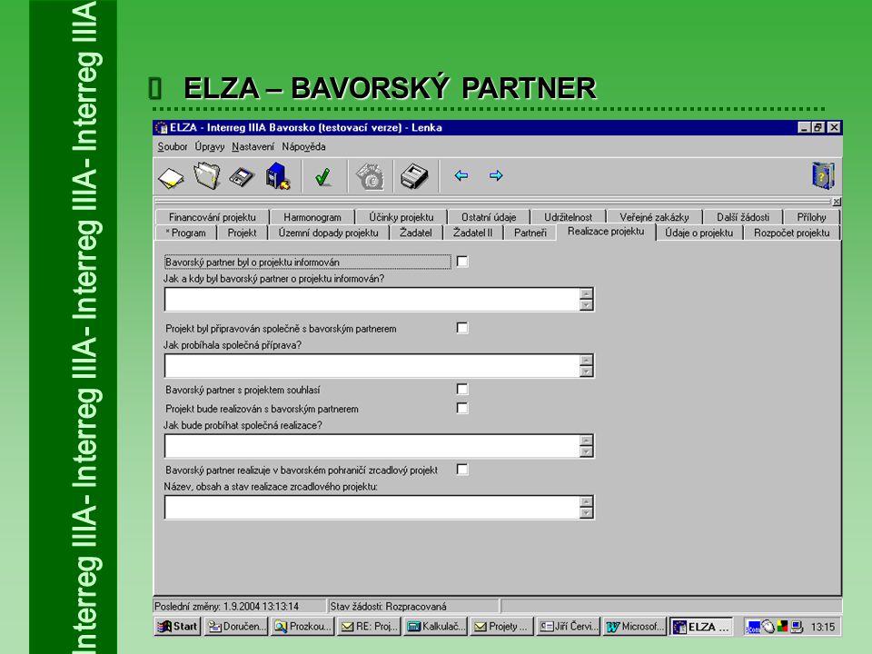  ELZA – BAVORSKÝ PARTNER
