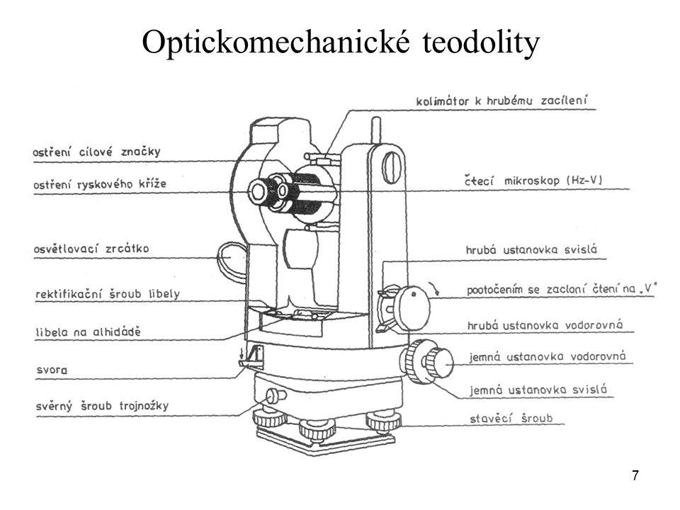 Optickomechanické teodolity 7