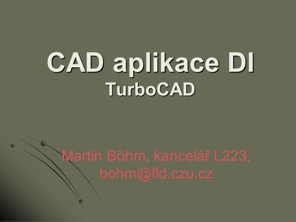TurboCAD Professional 15.1 …a nyní již spuštění samotné aplikace TurboCAD (více než 7 způsobů otevření souboru)