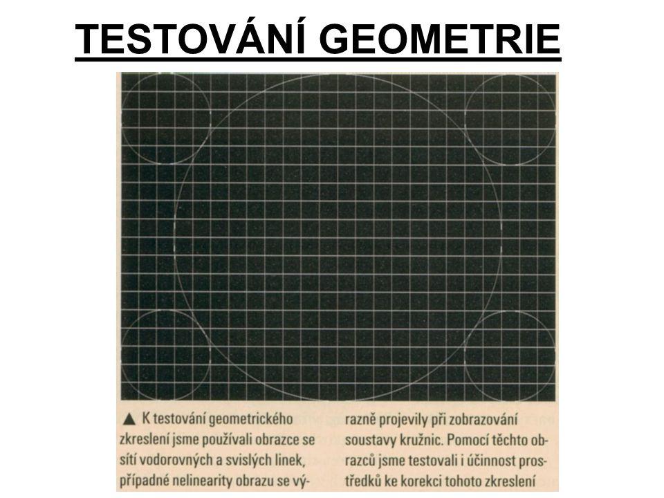 TESTOVÁNÍ GEOMETRIE