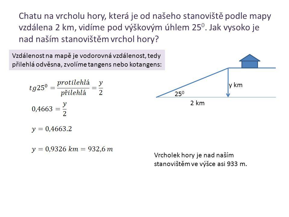 Určete poloměr kružnice, v níž středovému úhlu 65 0 přísluší tětiva dlouhá 36 cm.