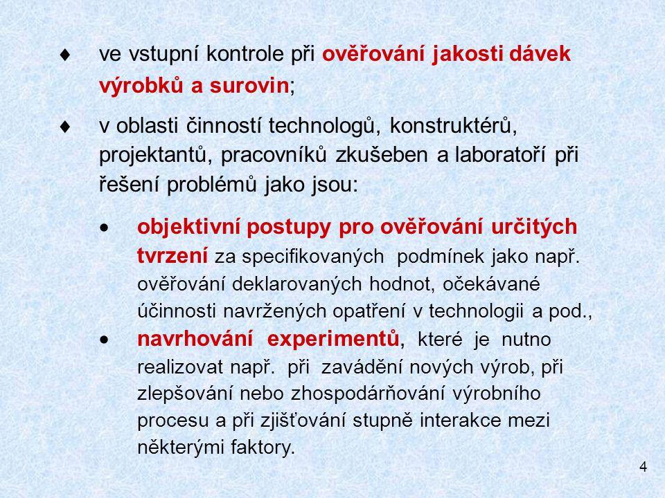35 ZPRACOVÁNÍ DAT Histogram
