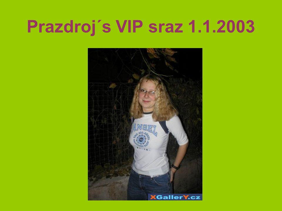 Prazdroj´s VIP sraz 1.1.2003
